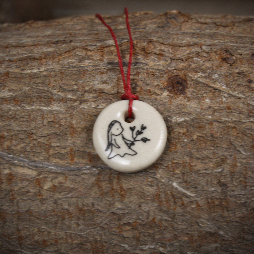 zodiac pendant: Virgo (August 23-September 23)