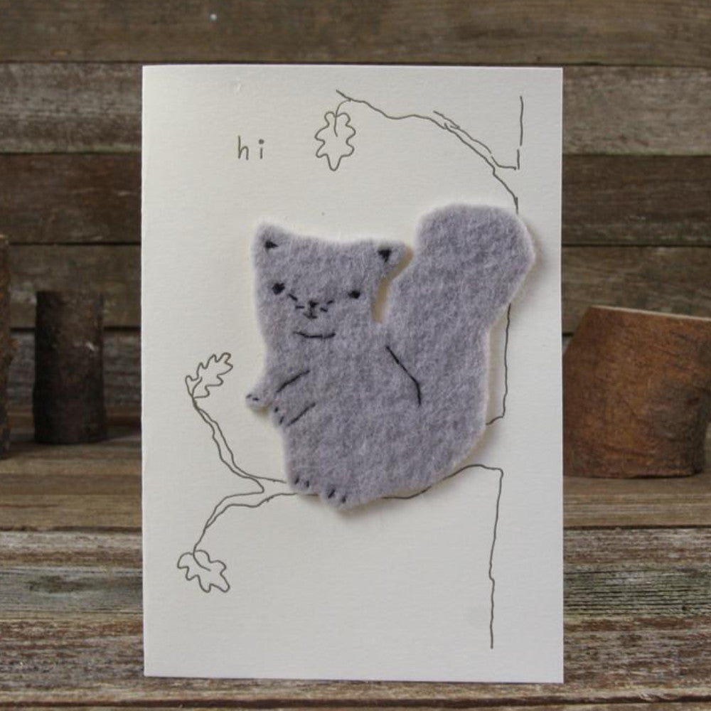 card: hi, squirrel
