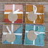 coasters: cool tones/botanical