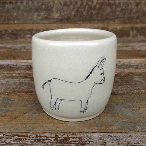 cup: donkey