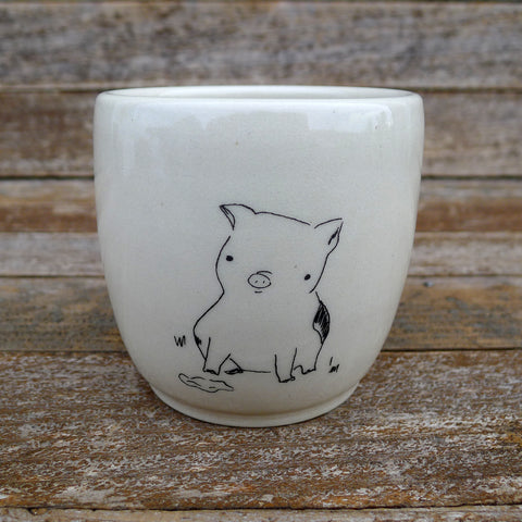 cup: pig