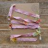 decorative silk ribbon: dusty rose