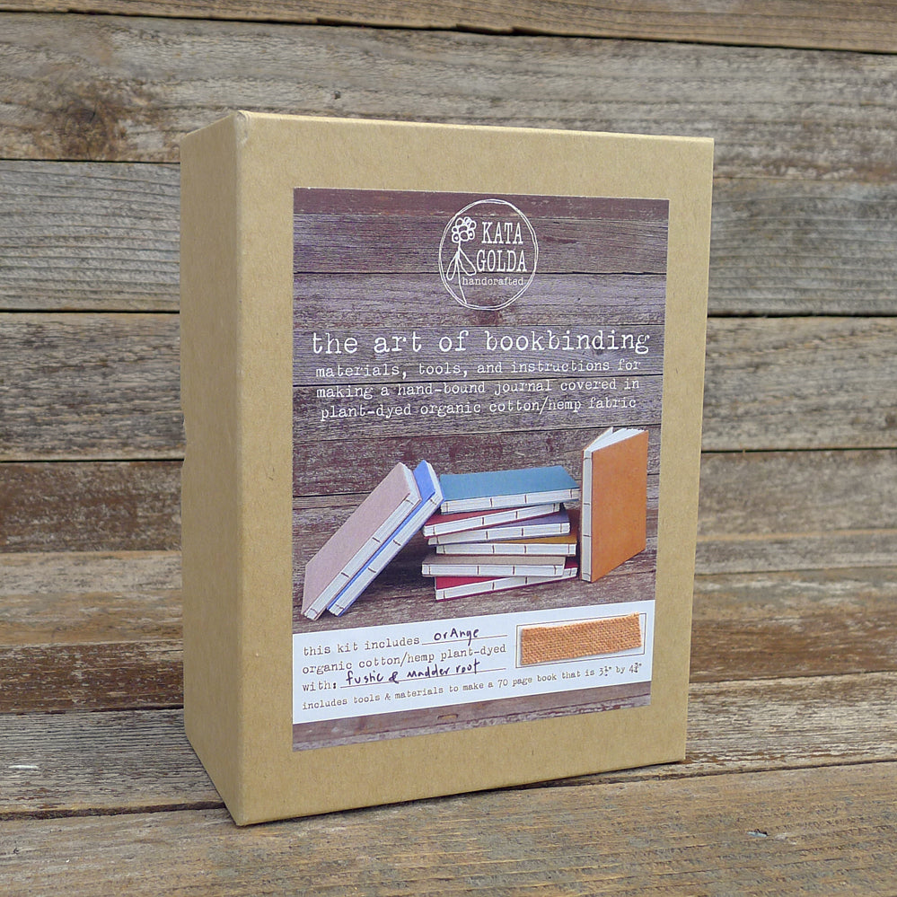 DIY bookbinding kit