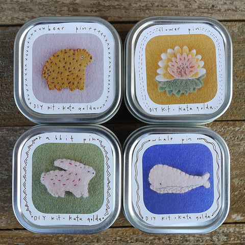 DIY pin tins