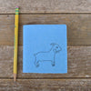little felt journal: goat