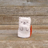 finger puppet: cat