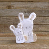 finger puppets: mama rabbit and bunny