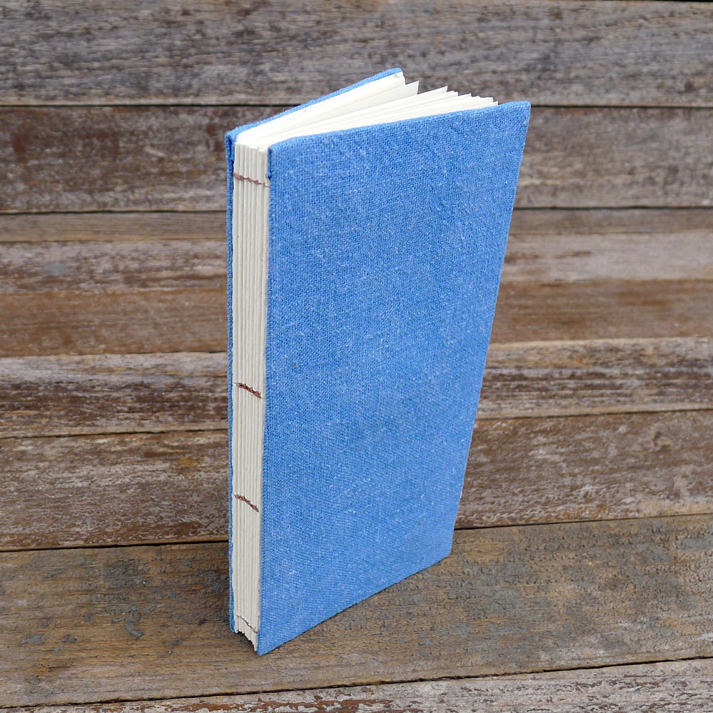 simple hemp journal: blue