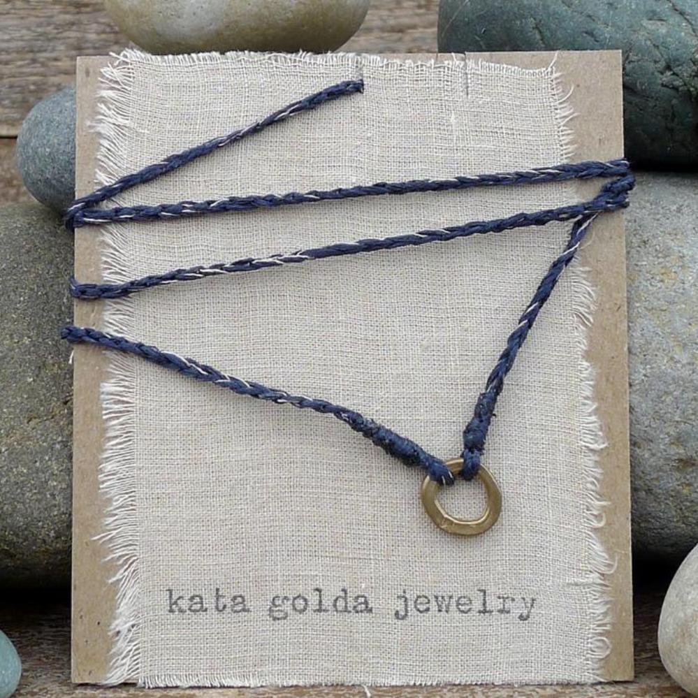 long necklace/no clasp: lena lake