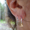 earrings: pond