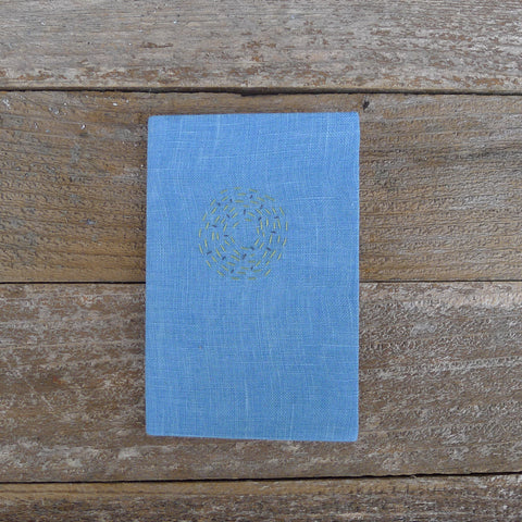 little address book: blue