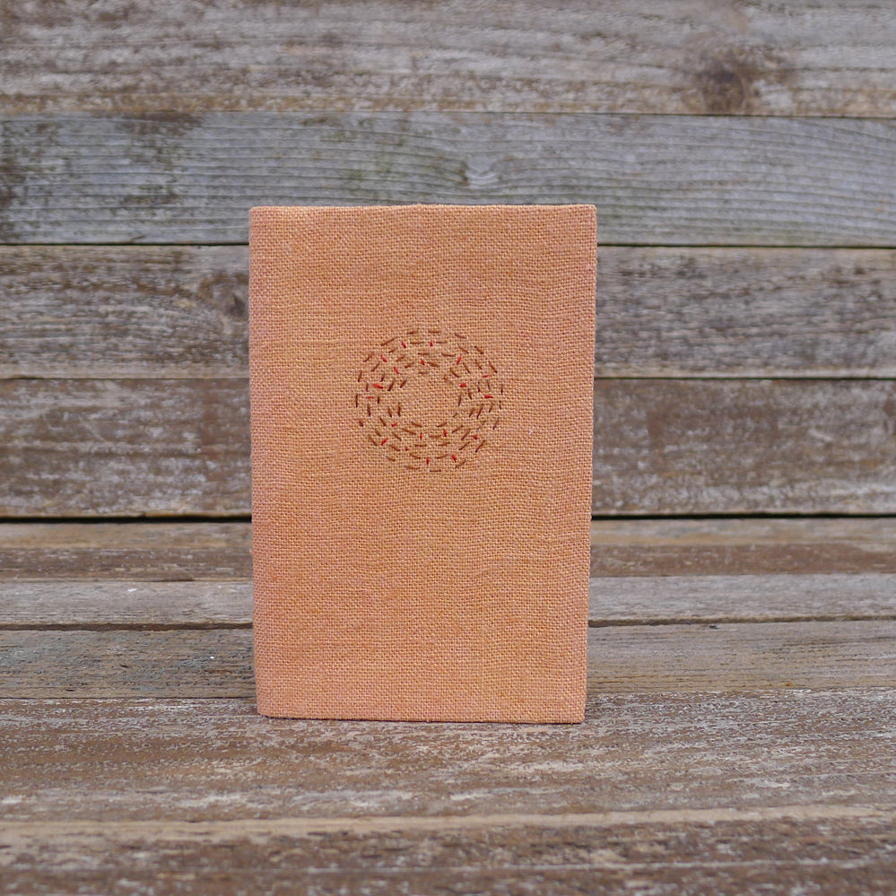 little address book: orange