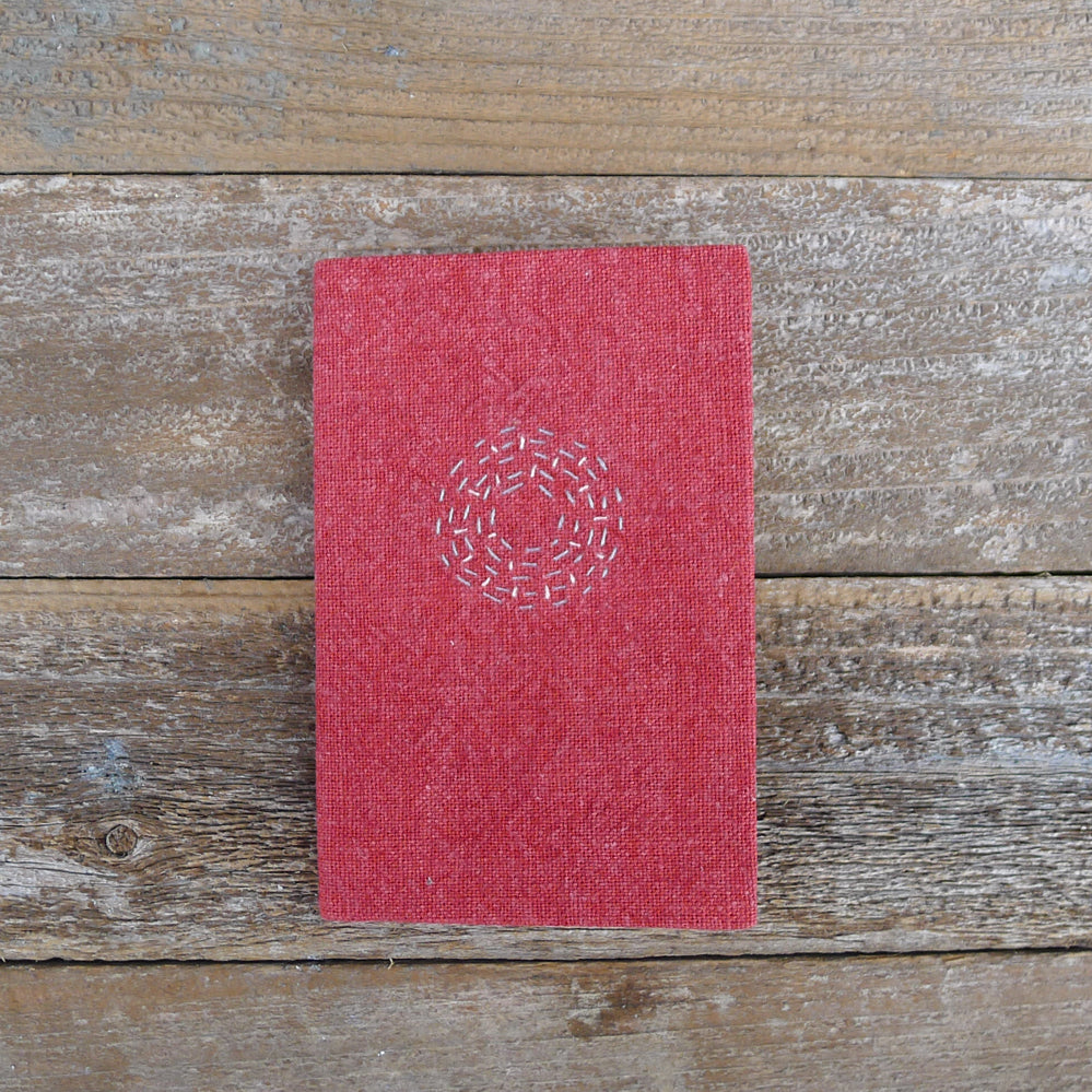 little address book: red