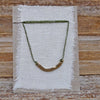 single charm necklace: basin