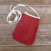 pocket purse: red/heart
