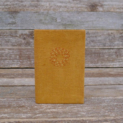 little address book: ochre