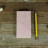 simple linen journal: dusty rose