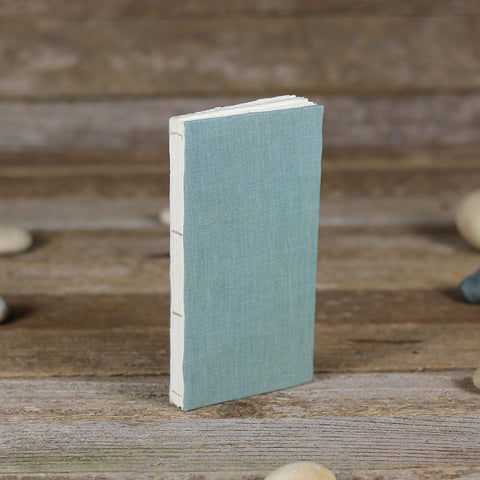 simple linen journal: green