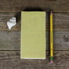 simple linen journal: yellow