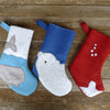 christmas stocking: whale