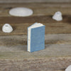 tiny linen journal: blue