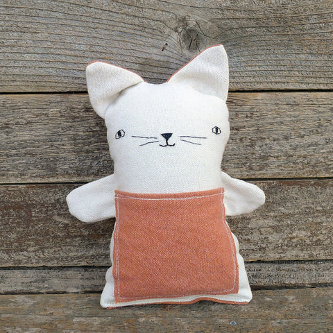 tooth fairy pillow: cat
