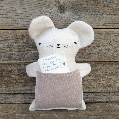 tooth fairy pillow: mouse