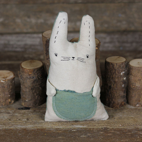 tooth fairy pillow: rabbit