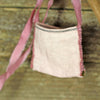 linen treasure pocket with silk strap: 7 colors