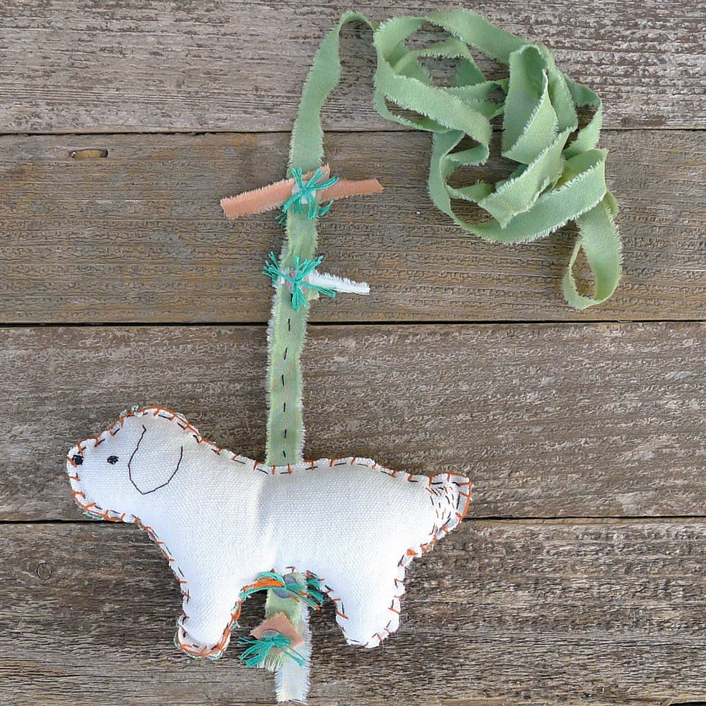 decorative wall charm: dog