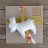 decorative wall charm: donkey