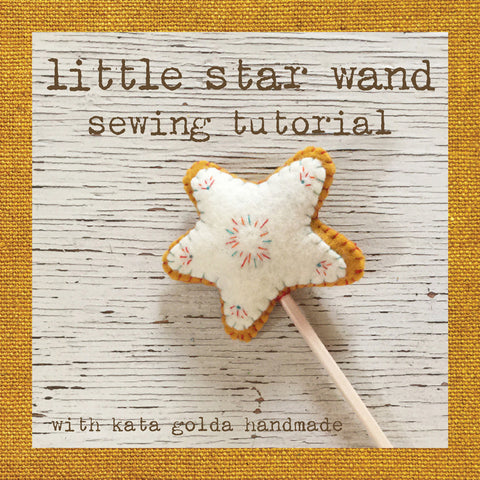 free sewing tutorial: little star wand