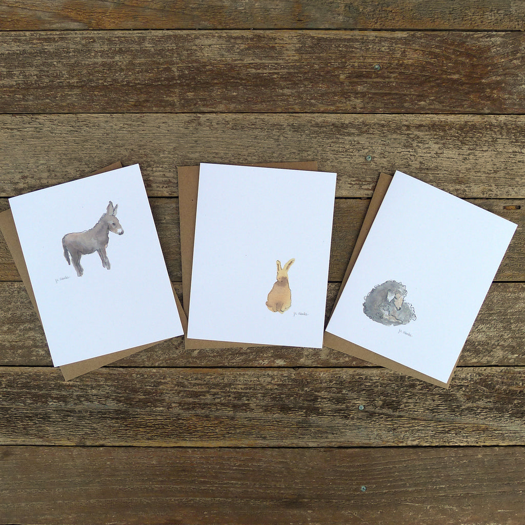 watercolor cards: gentle collection