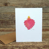 watercolor cards: hearts and love