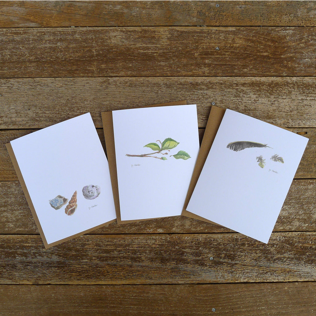 watercolor cards: studies collection