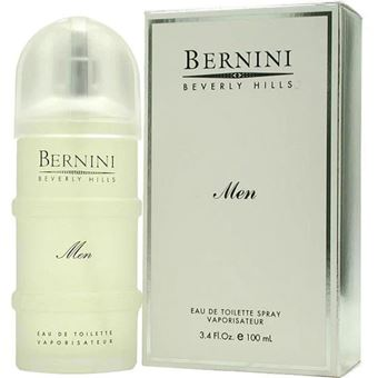 Bernini cologne for men eau de toilette spray 3.4 ounces
