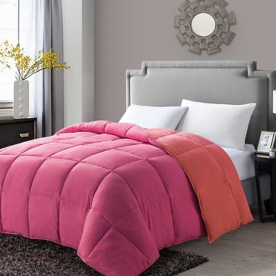 coloured down comforters