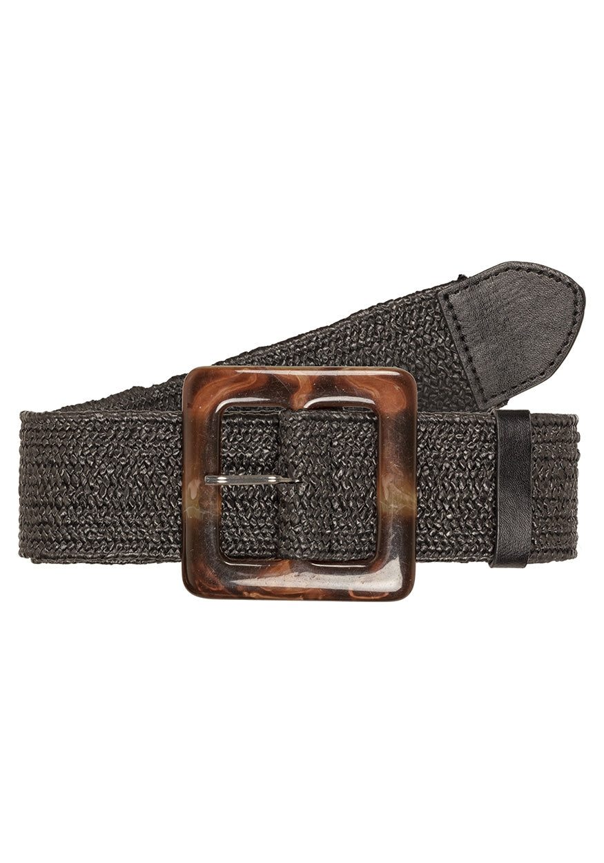 Straw belt | Black