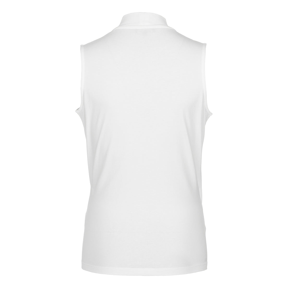 Top Overslag Mouwloos | White