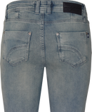 Bess Jeans | Blue Green Wash