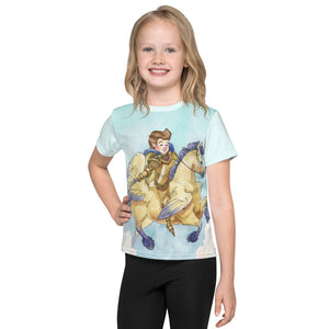Open image in slideshow, Little Brave Kids crew neck t-shirt