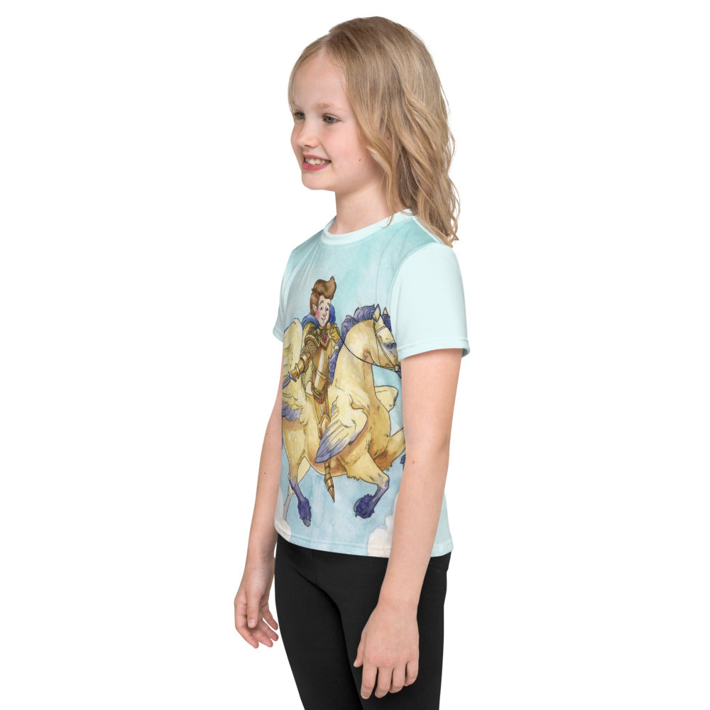 Little Brave Kids crew neck t-shirt
