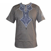 Dashiki High Quality New Design Embroidered African T-Shirts