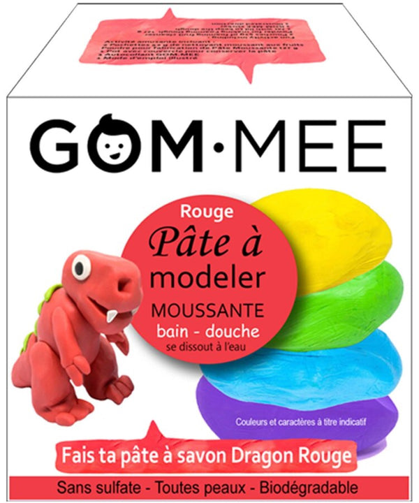 Ensemble de fabrication de pâte à modeler moussante Dragon - Gom-mee