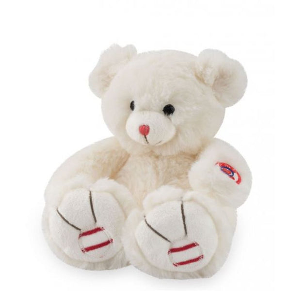 Peluche Petit Ours Blanc ivoire collection Rouge - Kaloo