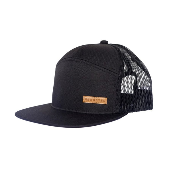 Casquette City Black - Headster Kids
