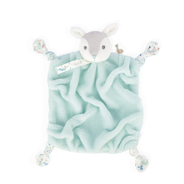Doudou Faon aqua collection Plume - Kaloo