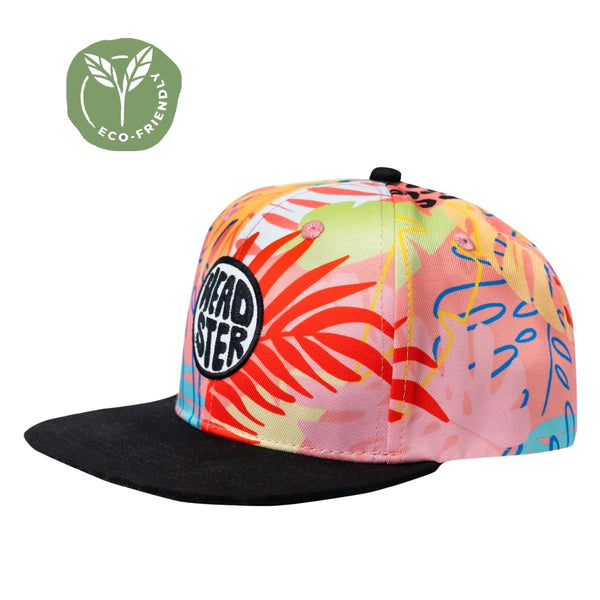 Casquette - Tropic Pink - Headster Kids