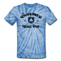 Unisex Tie Dye T-Shirt/ Color Options - spider baby blue