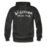 Men's Hoodie/ Color Options - charcoal gray